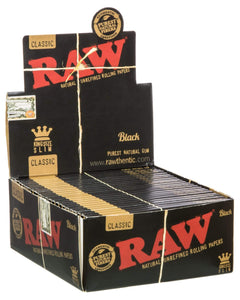 box of black papers