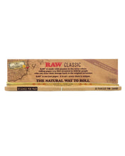 Load image into Gallery viewer, king size raw rolling papers