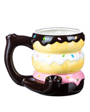 Load image into Gallery viewer, Doughnuts Pipe Mug