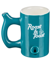 Load image into Gallery viewer, Large Original Pipe Mug in teal