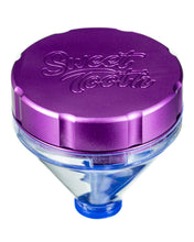"Load image into Gallery viewer, Purple ""Fill 'er Up"" Funnel Style Aluminum Grinder"