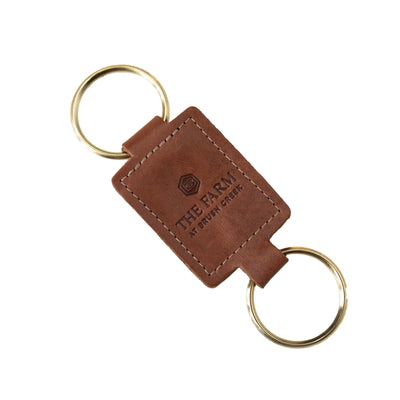 Top Grain Leather Key Fob