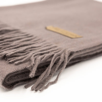Cashmere Throw Blanket
