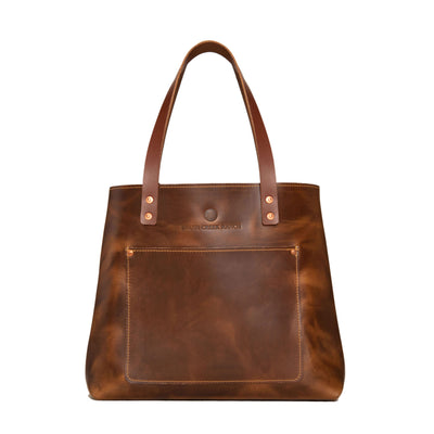 Oxford Leather Tote