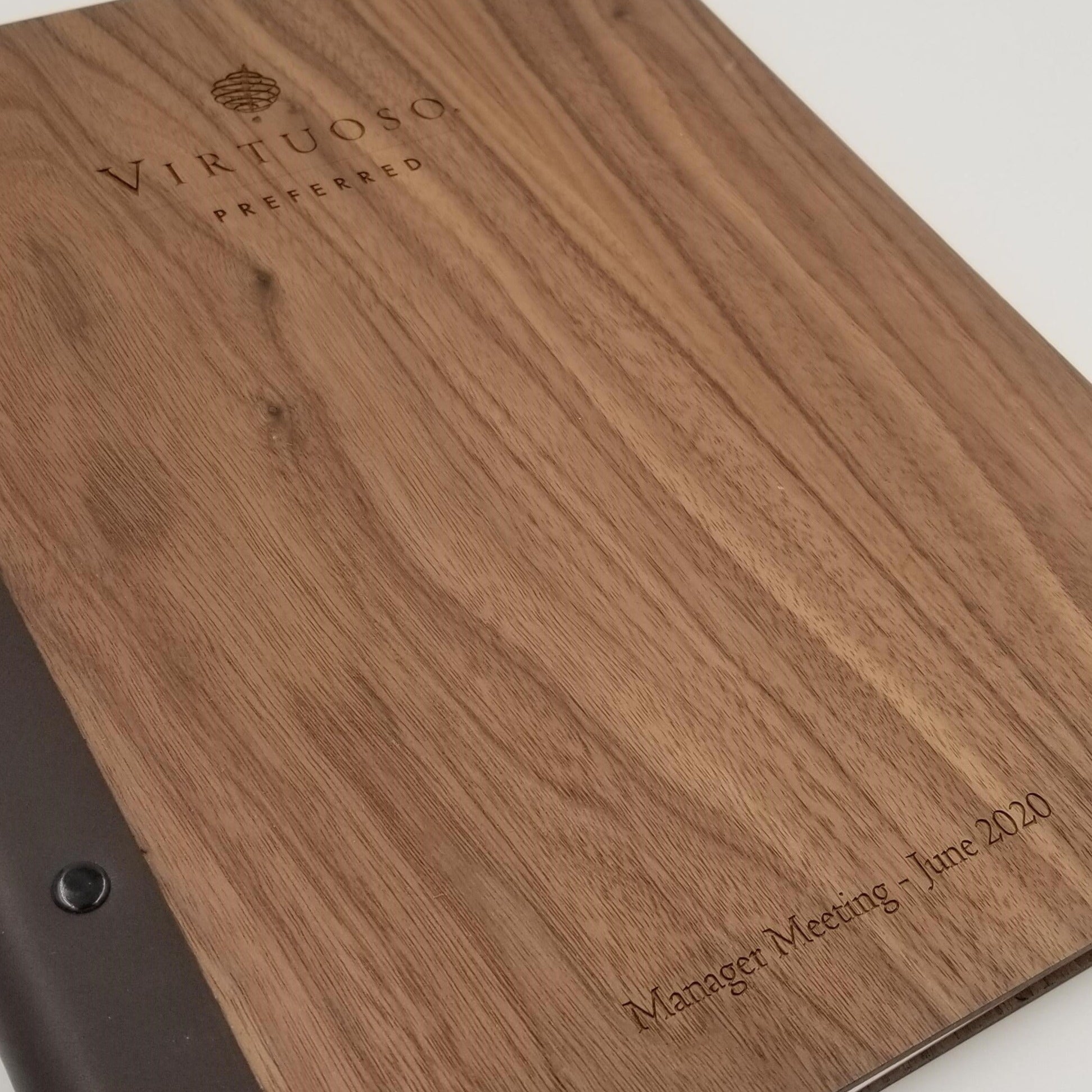 Padfolio in Walnut
