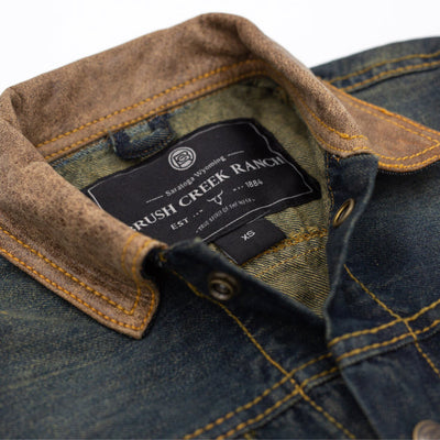 Youth Brush Creek Ranch Denim Jacket