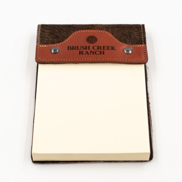 Cowhide Leather Notepad