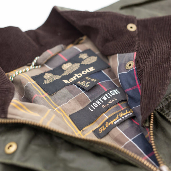 Women's Barbour Lightweight Defence Waxed Cotton Jacket
