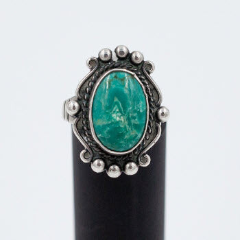 Navajo 1930-40s Turquoise Ring
