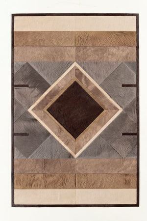 4' x 6' Accent Rug - Chocolate