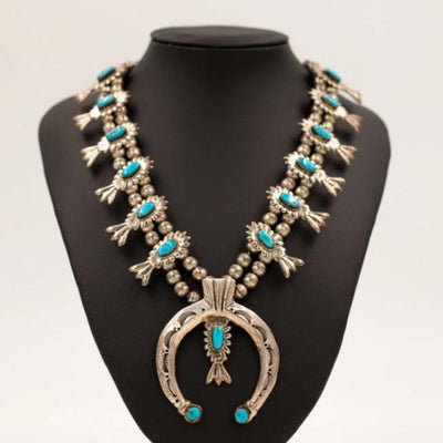 1950s Squash Blossom Necklace