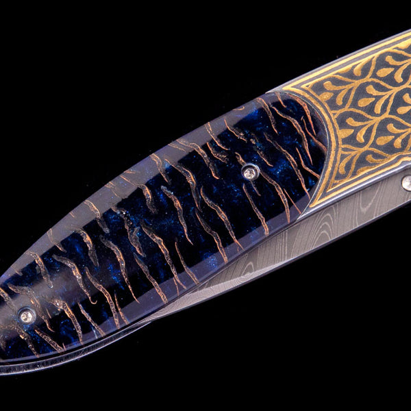 Monarch Golden Scale Pocket Knife