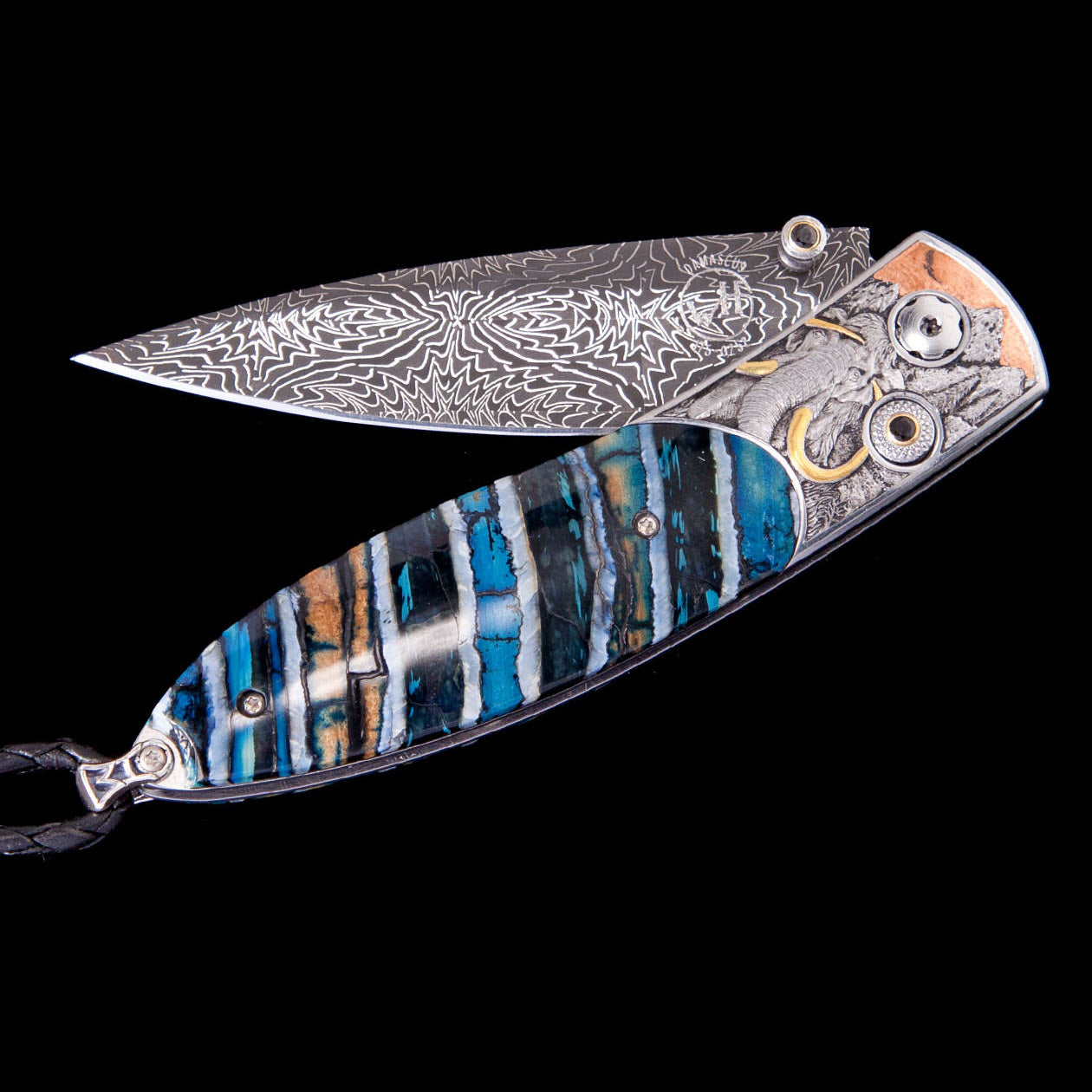 Monarch Woolly Mammoth Pocket Knife