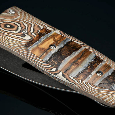 Pharaoh Epic Money Clip with Woolly Mammoth tooth