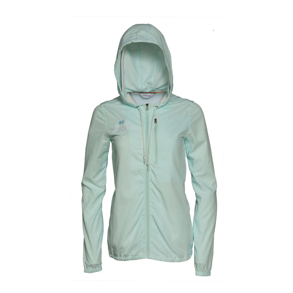 Women's Hooded Open Air Caster - Clearwater Blue