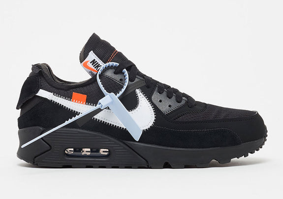 size 40 55882 b237d Off-White X Nike Air Max 90 Black AA7293-001 – My Basket Needs