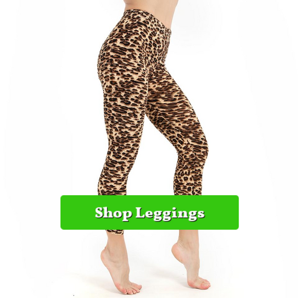 Graphic Print Leggings