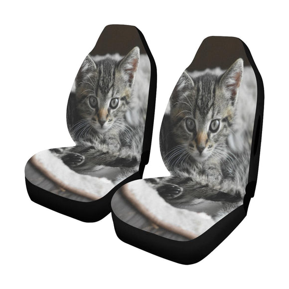 Cute Kitty Cat Car Seat Covers