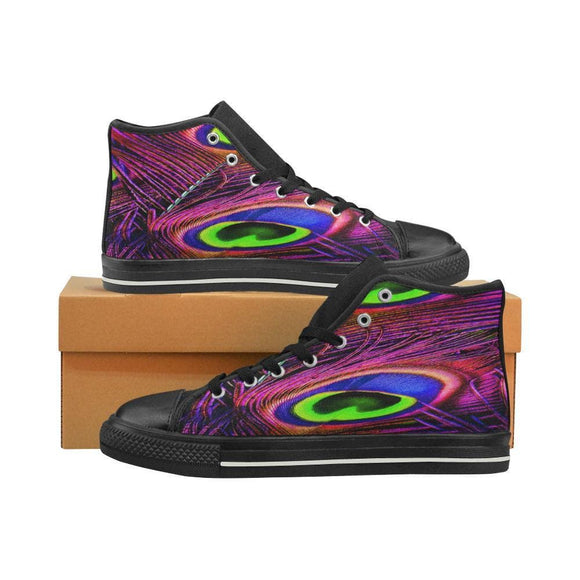 Fabulous Peacock High Top Shoes