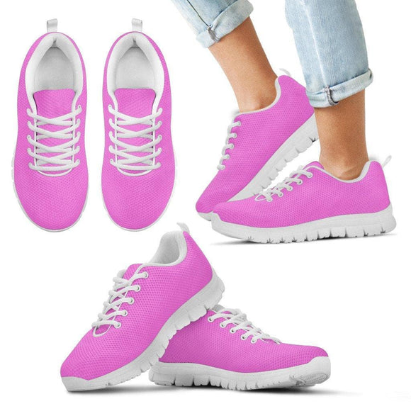 Kids Pink Sneaker Shoes For Girls