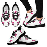 Pink Butterfly Shoes For Women Or Girls Butterfly  Sneakers