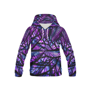 Purple Dark Forest Hoodie