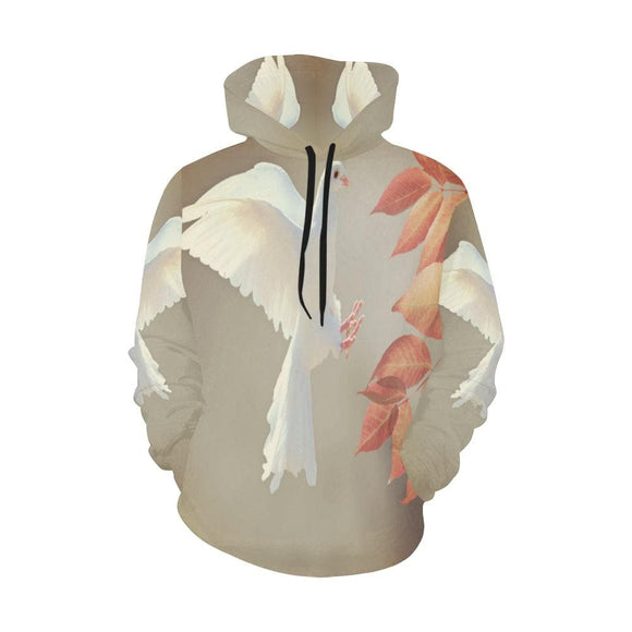 A Dove of Life Flying hoodie
