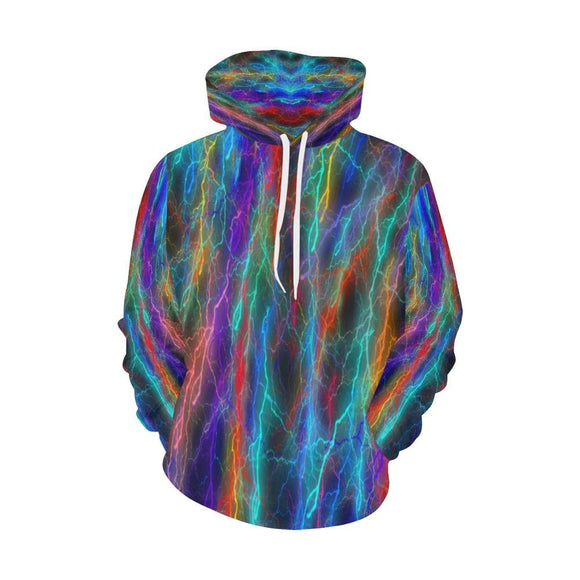Colored Lightning Hoodie