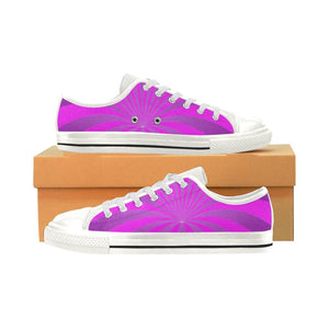 Pink Rabbit Hole Womens Low Top Shoes
