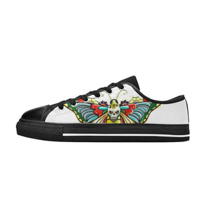 Butterfly Bee Skull Shoes
