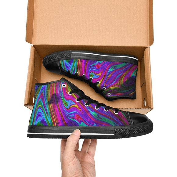 Rainbow Color Shoes For Men