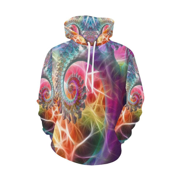 Trippy Light Waves Hoodie