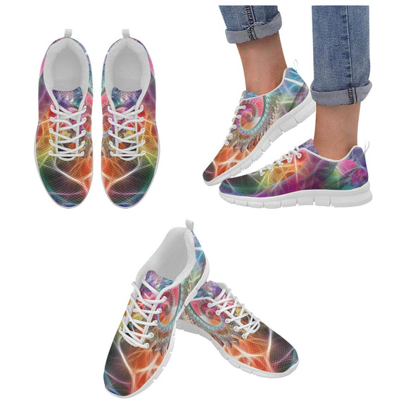 Colorful Party Graphic Womens Shoes