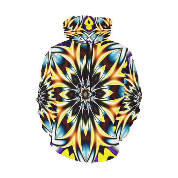 Flower Power Colors Hoodie