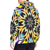 Colorful Blast of Light Abstract Hoodie