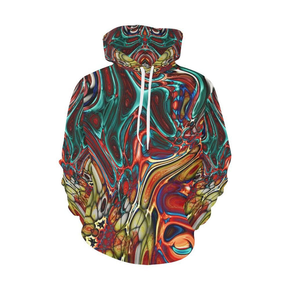 Color Collision Hoodie