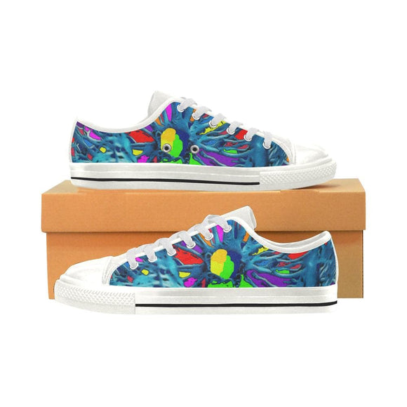 Paint Splatter Low Top Shoes