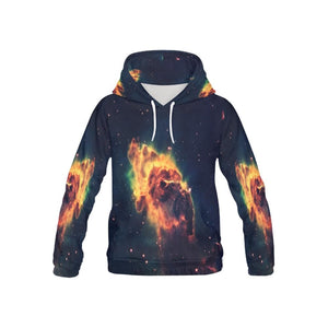 Galaxy Hoodies For Youths Teens Kids