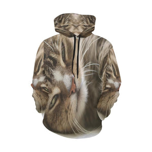 Kitten Cat Graphic Hoodies