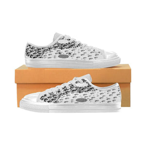 Yin Yang Low top Shoes For Women