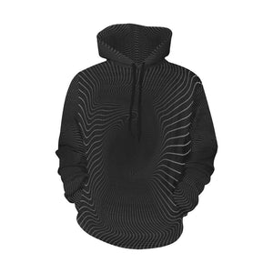 Spiral To Nowhere 3d Graphic Hoodie