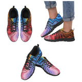 Trippy Spiral Ripple Effect Shoes