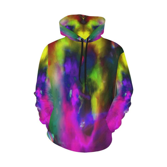 Color Explosion Hoodie For Men Or Women