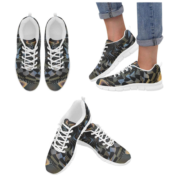 Checkered Spiral Shoes