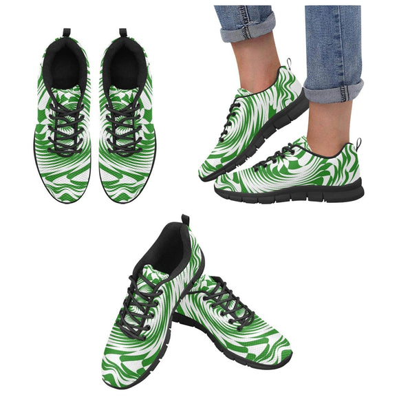 Green Swirl Shoes