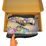 Hip Color Mandala Face Shoes
