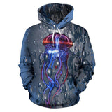 Jelly Fish Interdimensional Matrix World Psychedelic Hoodie
