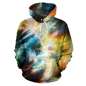 Ball Of Light Colorful Hoodie