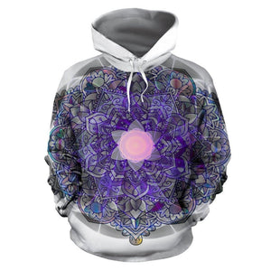 Colorful Mandala Hoodie For Men or Women