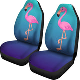 Pink Flamingo Car Seat Covers